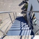 Comfortabele aluminium tuintrap - Noram