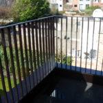 Stalen balustrade met platte spijlen (V10)