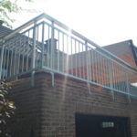 Aluminium balustrade met spijltjes (V19)
