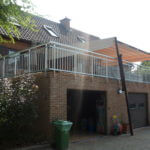 Aluminium balustrade met spijltjes (V20)