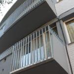Stalen verzinkte balustrade met spijlen