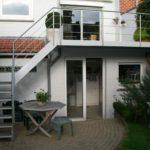 terras aan woonvloer