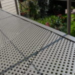 terrasvloer met perforatie