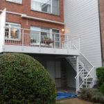 terras aan bel etage woning