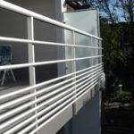 balustrade in aluminium