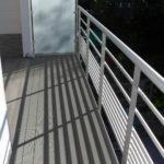aluminium terras en trap
