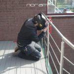 Dries van Noram aan het werk