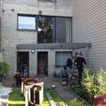 aanleg terras met verdiep en balustrade - Noram Wommelgem