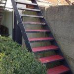 roestvaste traptreden